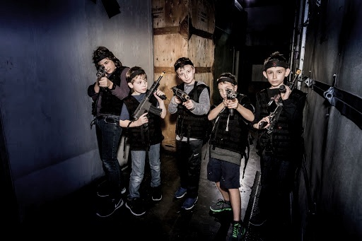 KIDS BIRTHDAY - At LazerX Arena, we offer G-Rated parties for children 12 and under including laser tag, escape games, Nerf guns, bubble soccer and more. All the fun activities are equipped with easy to use child-friendly equipment..