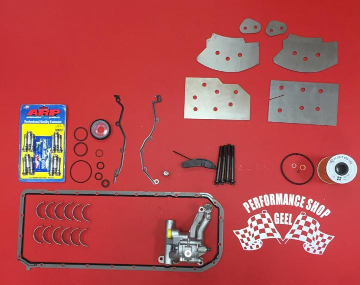 E46 M3 oil pump and rod bearings and subframe reinforcement