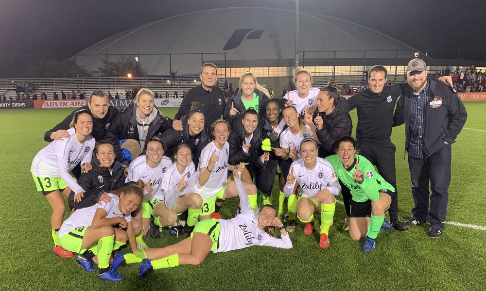 Andonovski Pleased with Performance in Washington Draw — REIGN FC