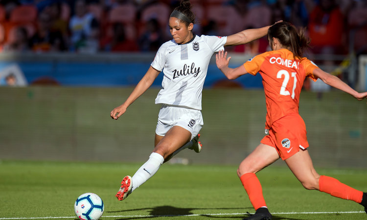 Reign FC Comeback in Houston Ends in Draw After Stoppage Time Penalty Save