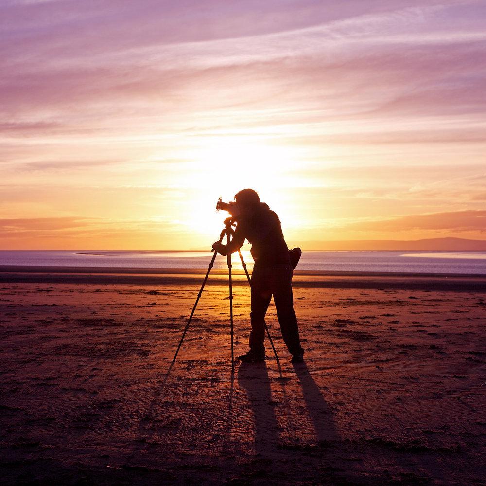 Sunset photo of Dan Ransley: © Steven Meyer-Rassow  www.smrphotoart.com