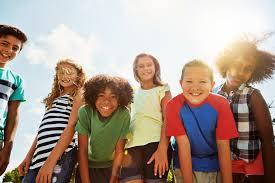Five Smiling Children