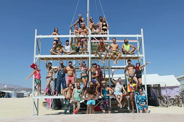 Group photo of @campfurngully - Raise your hand if you've ever found yourself seemingly unable to leave the magical FURngully universe? 🔥❤️ #furngully #sacramentoregionburners #burningman2018 #sacramentoburners #chicoburners #loveanddustyhugs