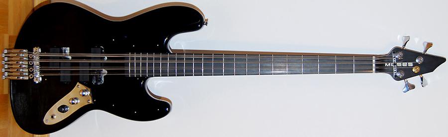 Lutz Fahrenkrog-Petersen's 4-String to 12-String Bass Conversion