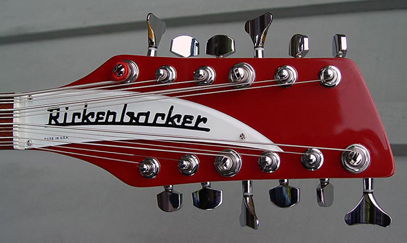 The string arrangement is Inverted (root on top) like the Rickenbacker 8-string basses.