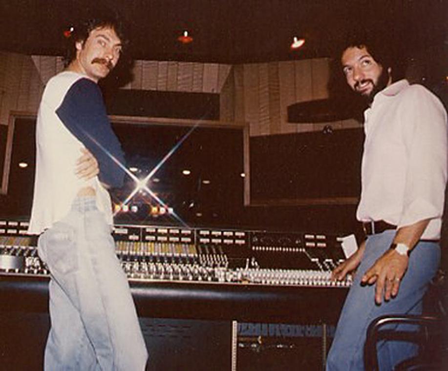 Gary Ladinsky and Tom Werman in 1978.