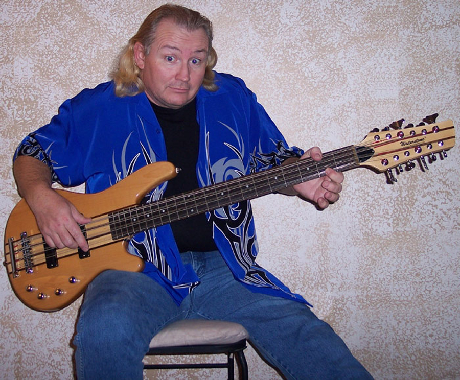 Surf with a Waterstone Ozone 12-string bass