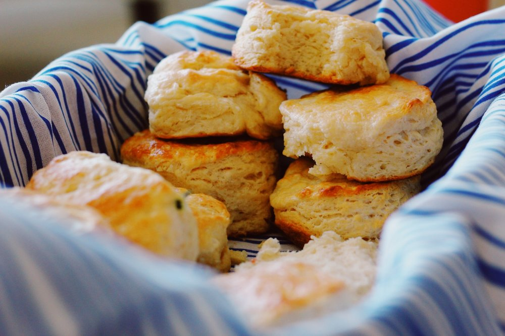buttermilk and vegan biscuits