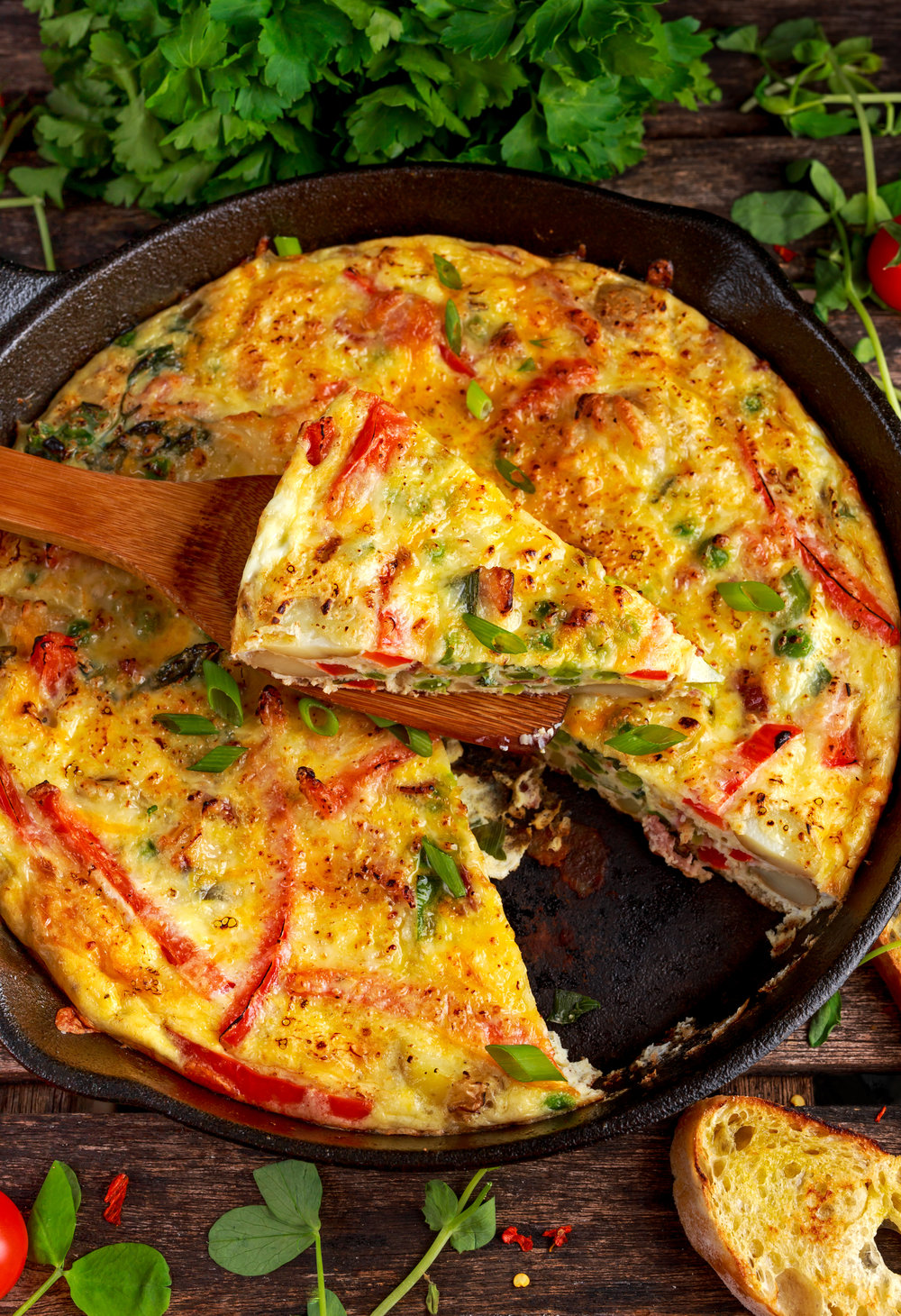 Z's Famous Frittata -