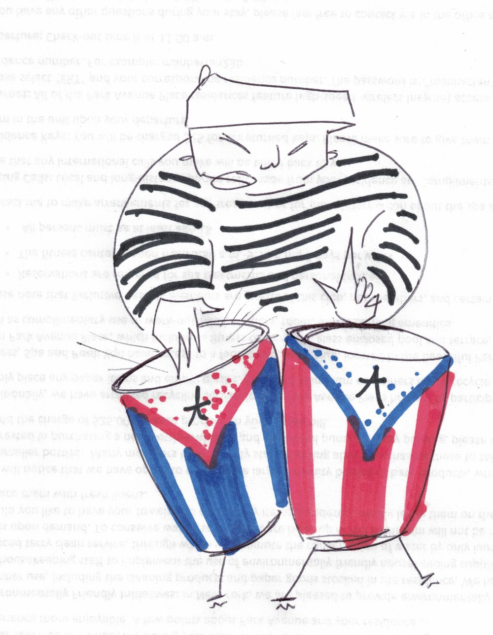 Pico Del Barrio: - Traveling through music, Pico has learned and mastered all forms of Latino genres around the world. His motive is to bring awareness to the wickedness of mankind. But more importantly, being half Cuban and half Puerto Rican makes him a Cuba-Rican.#picodelbarrio