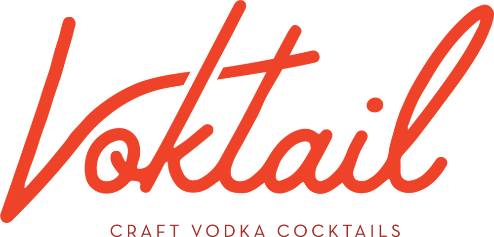 Using the third moodboard, a place to start when developing the wordmark logo for Voktail would include work around a script font with a customized retro feel.