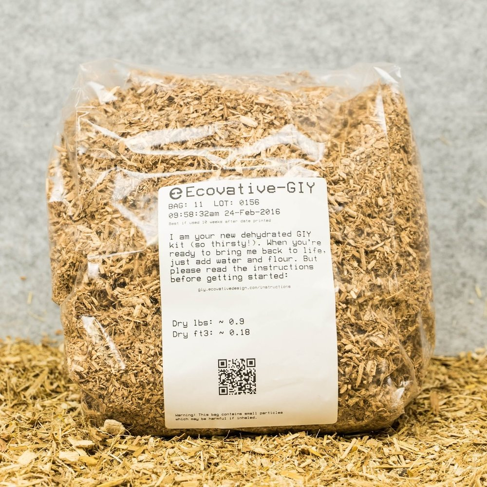 "Grow.bio - Grow your own mycelium-based goods at home. We encourage you to play with our mushroom materials and join other designers in the MycoCommunity by purchasing GIY ""Grow-It-Yourself"" kits."