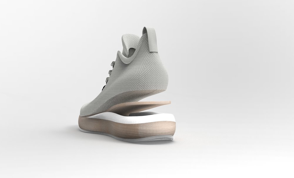 Midsoles - Our bio-based process is programmable and capable of producing controlled variable densities of high-performance foam for midsole shoe applications