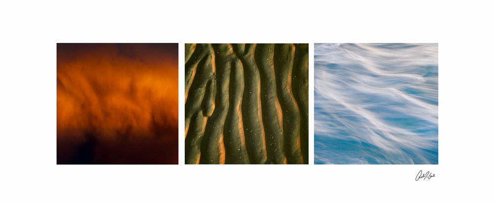 Fire, earth & water