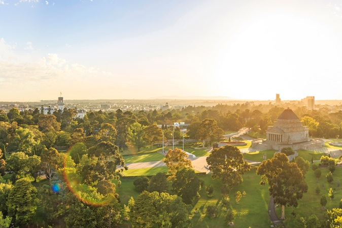 SWEEPING VIEWS - Enjoy the city and the Royal Botanic Gardens from a stunning new perspective.