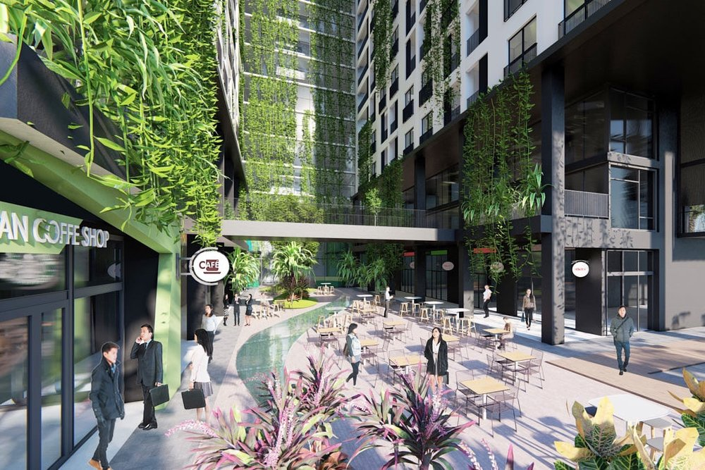 PRIME LOCATION WITH MANY AMENITIES - Urban Village is set in the capital's burgeoning Meanchey district and lies within easy reach of Phnom Penh's liveliest entertainment and business hubs. Strategically connected to the city-centre via Hun Sen Boulevard, Street 271 and National Road Two, amenities like Aeon Mall, Sofitel Hotel and much more are right at your doorstep.