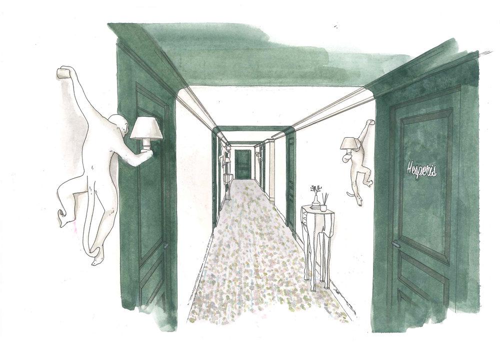 EN COURS -  HOTEL MERCURE
