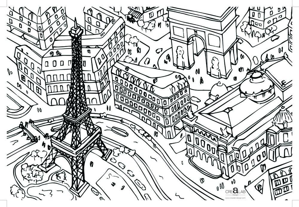 SETS DE TABLES - DE PARIS A HONGKONG