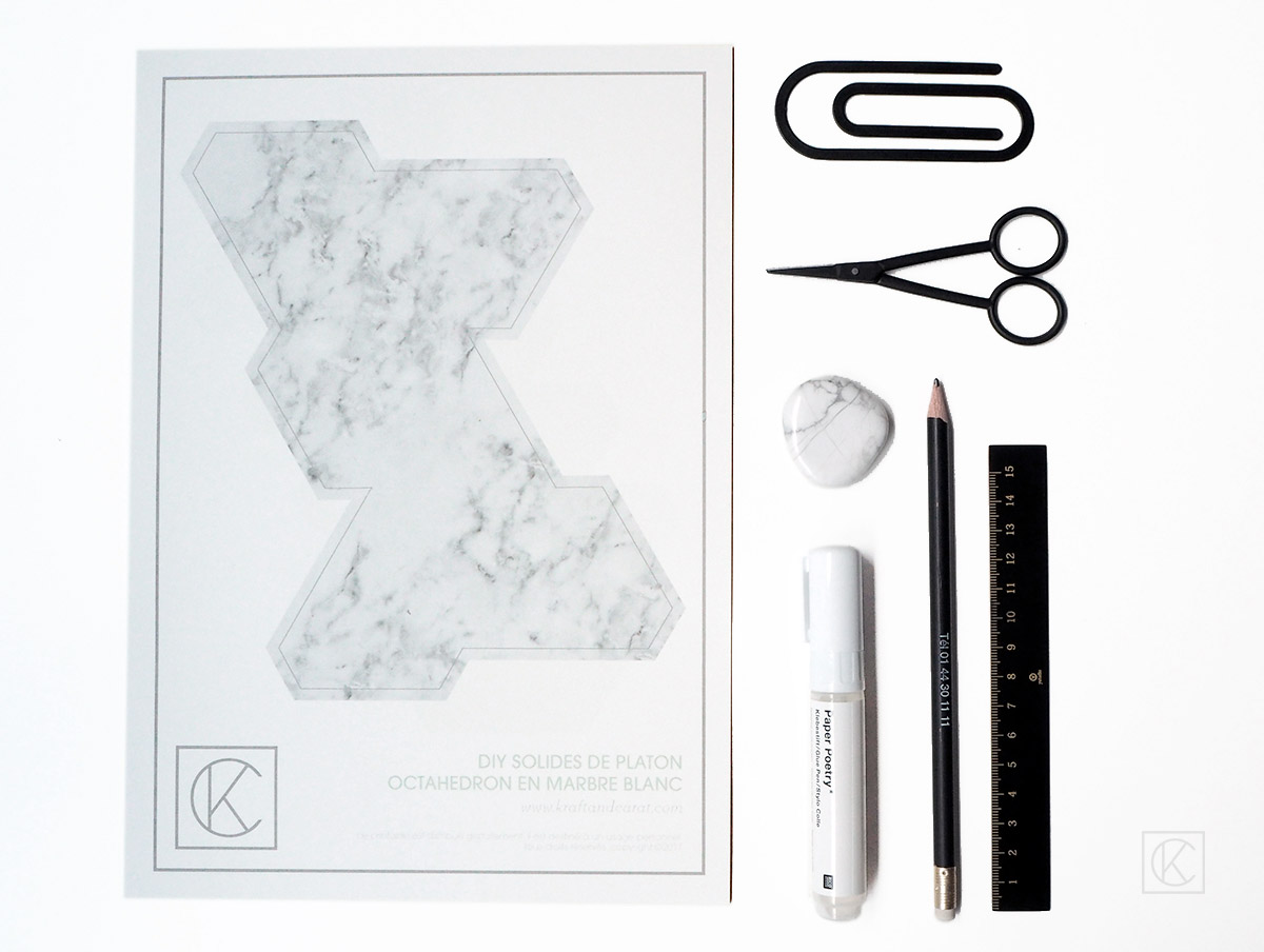 DIY-PAPER-MARBLE-PLATON-SOLID-KC-1