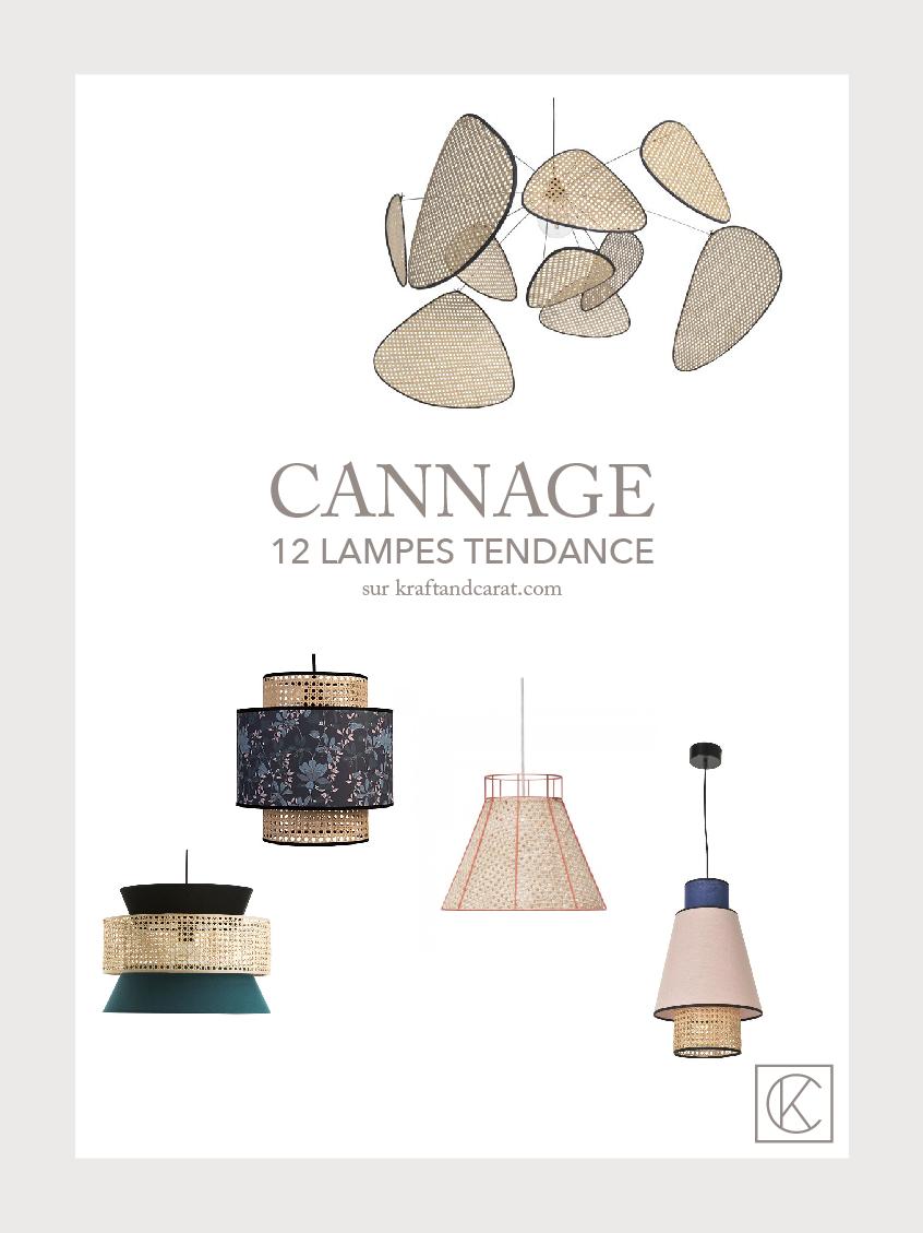 Envie D Une Touche De Cannage 12 Modèles De Lampes
