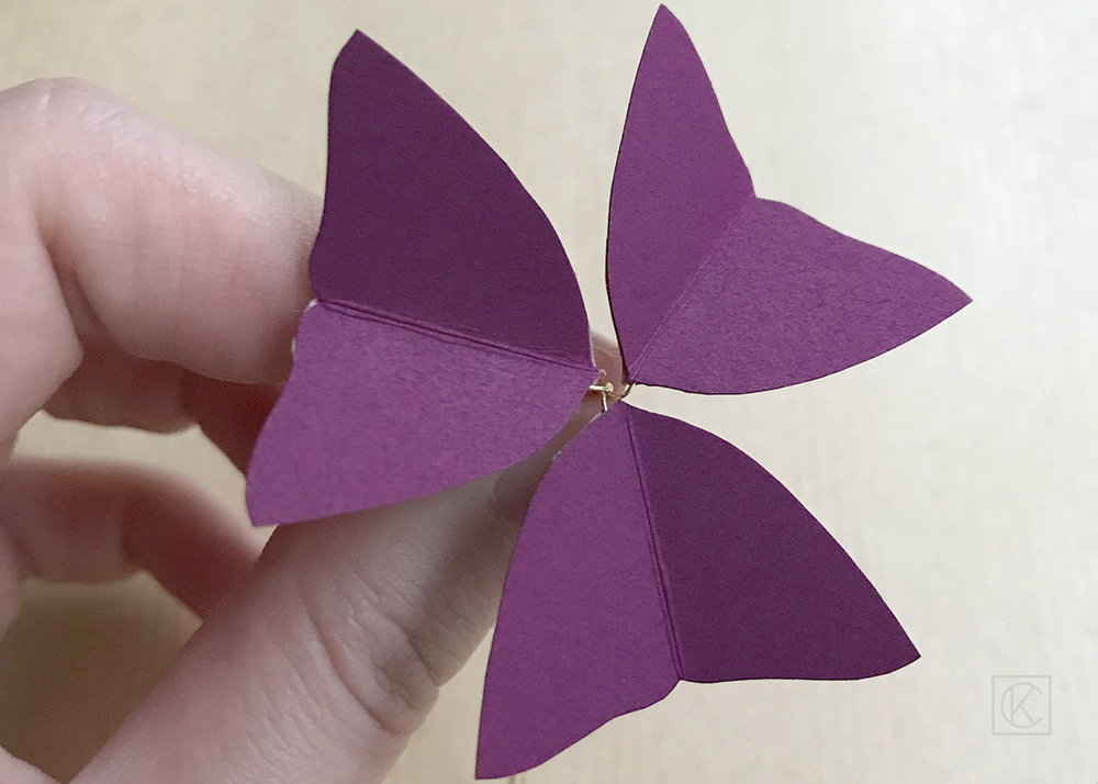 DIY PAPER FLOWER STEP BY STEP KRAFT&CARAT
