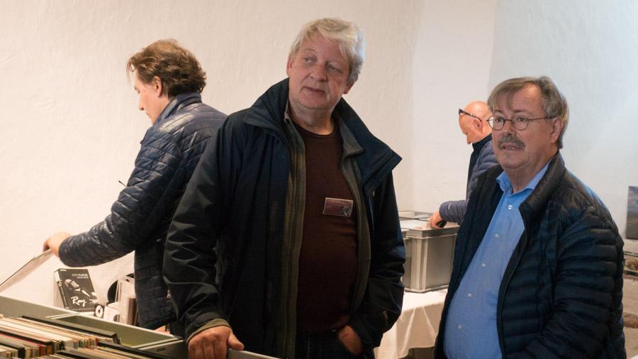 Peter Haller, unser Kassier und Hüter unserer klassischen Schätze.