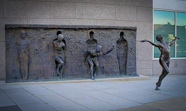 Breaking the mold freedom statue