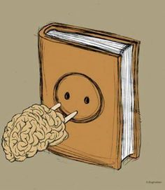 Plug your brain into a book. Recovery.
