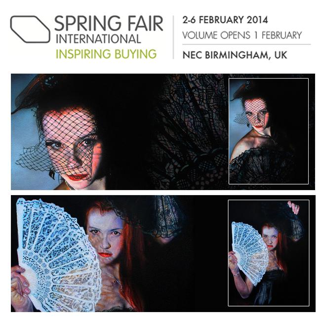"Spring Fair Birmingham NEC: ""Daryl Davies Fine Art LTD"" (2014)"