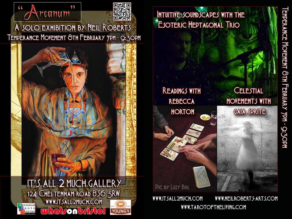Arcanum Exhibition - Temperance Movement - 8 February 2013