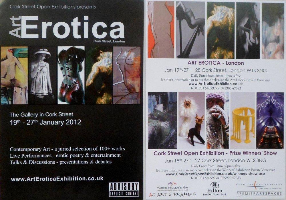 Cork Street London - Art Erotica 2012