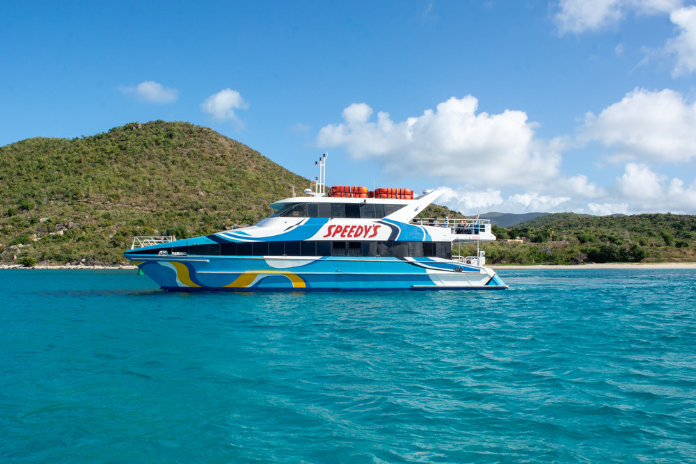 BVI, Virgin Gorda Ferries