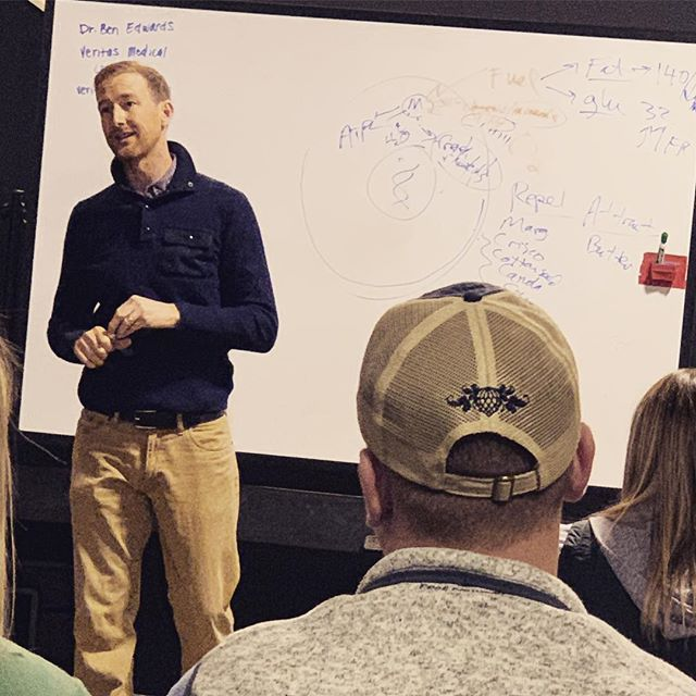 Had the opportunity to listen to Dr Ben Edwards with Veritas Medical this morning. He is a functional medicine MD with a satellite office here in Abilene. Check it out!  https://medical.veritashealthycommunity.com/segelle-bryan-rn-fnp-c/
