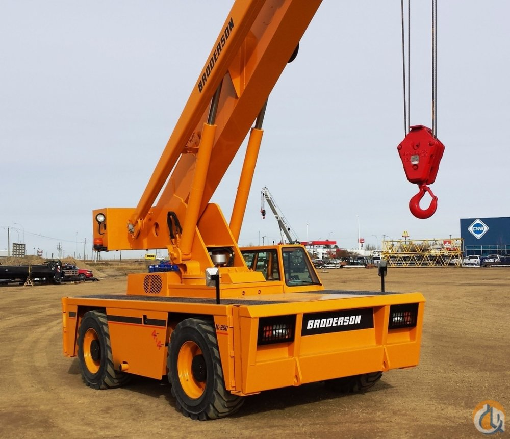 18 Ton: Broderson IC-250
