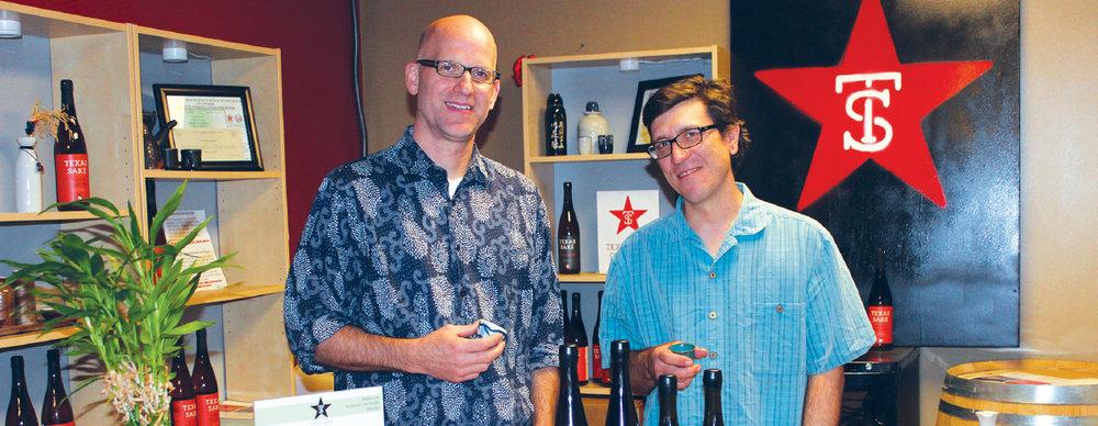 Texas Sake Co. - A new beginning.by Joe Lanane