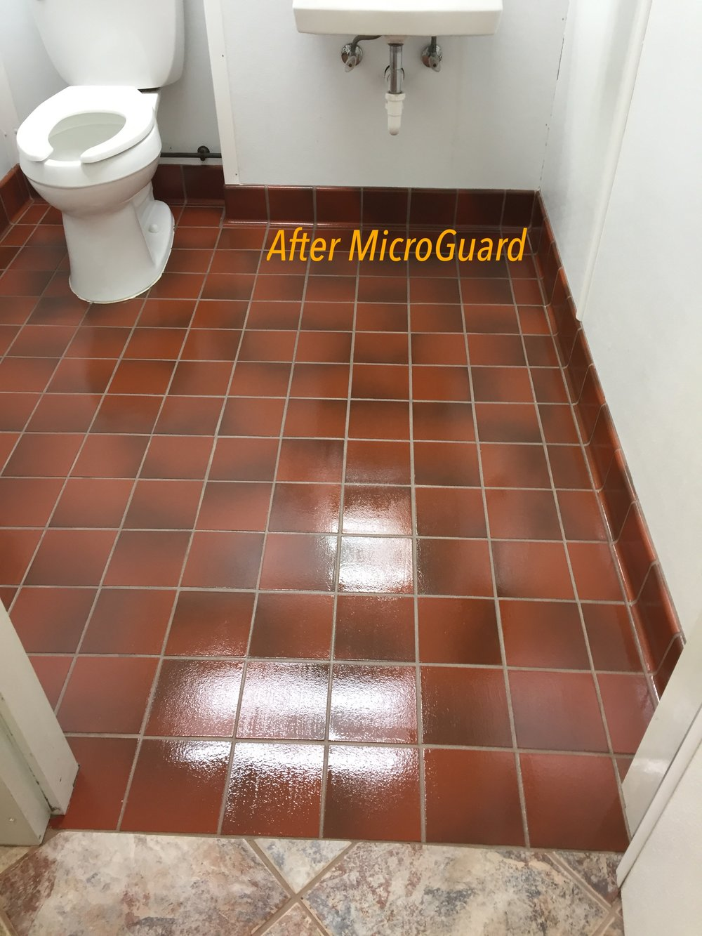 5 Quarry tile after Microguard coating.JPG