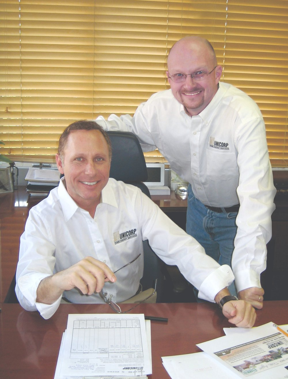 President Brian Weil (Left) and Vice-President David Rohrer (Right)