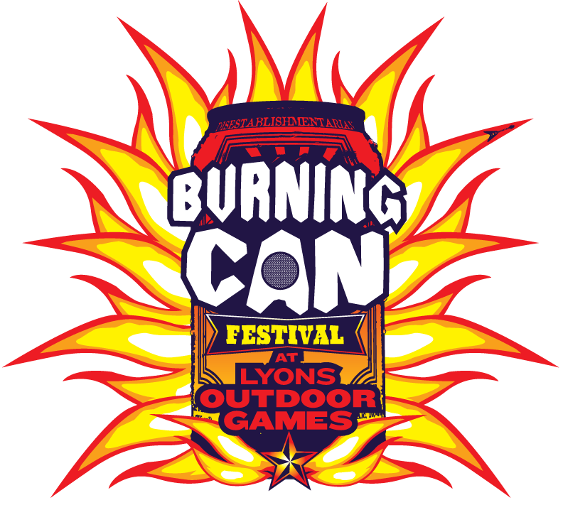 Burning Can Colorado: 5/31 - 6/1 Lyons, CO. Presented by Oskar Blues Brewery and the Town of Lyons
