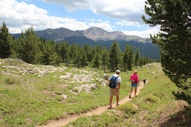 """Hike - VIEWS. HILLS. ROCKY MTN AIR.Lyons has beautiful trails for hiking including Hall Ranch and Picture Rock. You can also hike from the event venue up to the """"L"""" on the hill for a great view of the festival."""