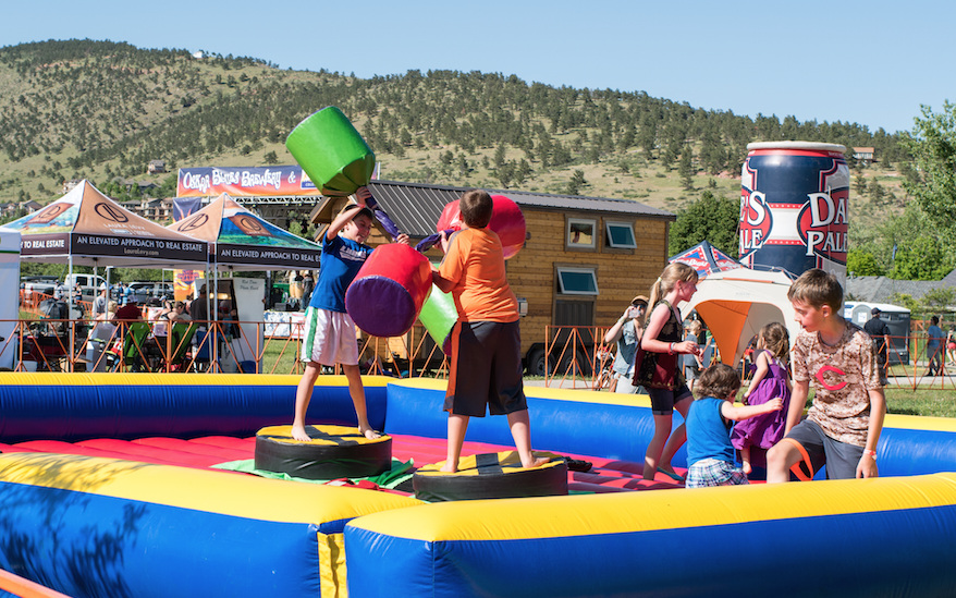 Playground - CLIMB. SLIDE. CHALLENGE YO SELF.Including a Ninja Warrior Course and inflatable obstacle courses for all sizes. This one is for adults and kids – free with admission you can battle, bounce, and play with your friends.