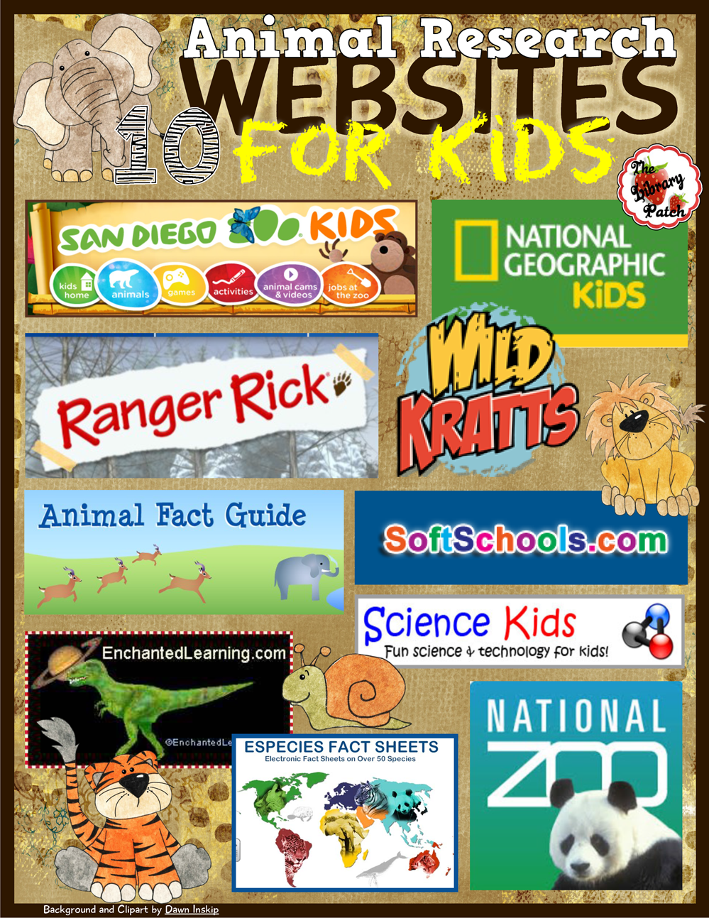 - San Diego Zoo for KidsRanger RickAnimal Fact GuideWild KrattsScience KidsDefenders of WildlifeNational ZooPest World