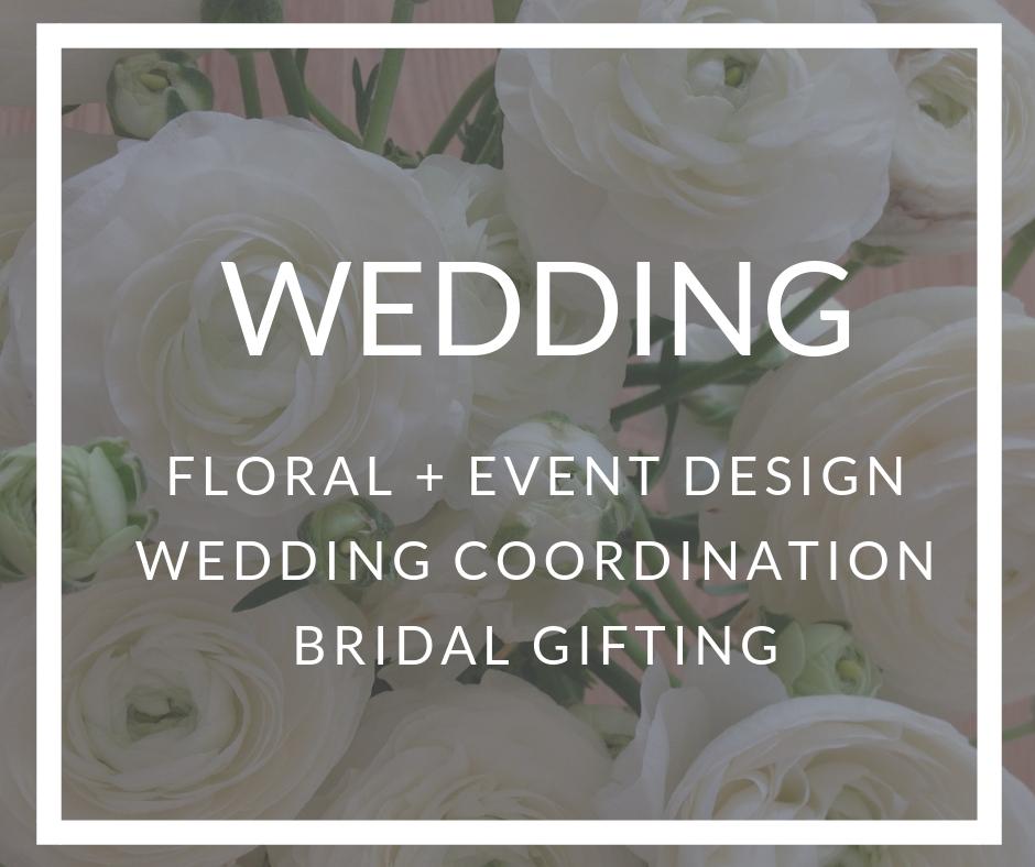 Wedding Floral - Event Design, Planning