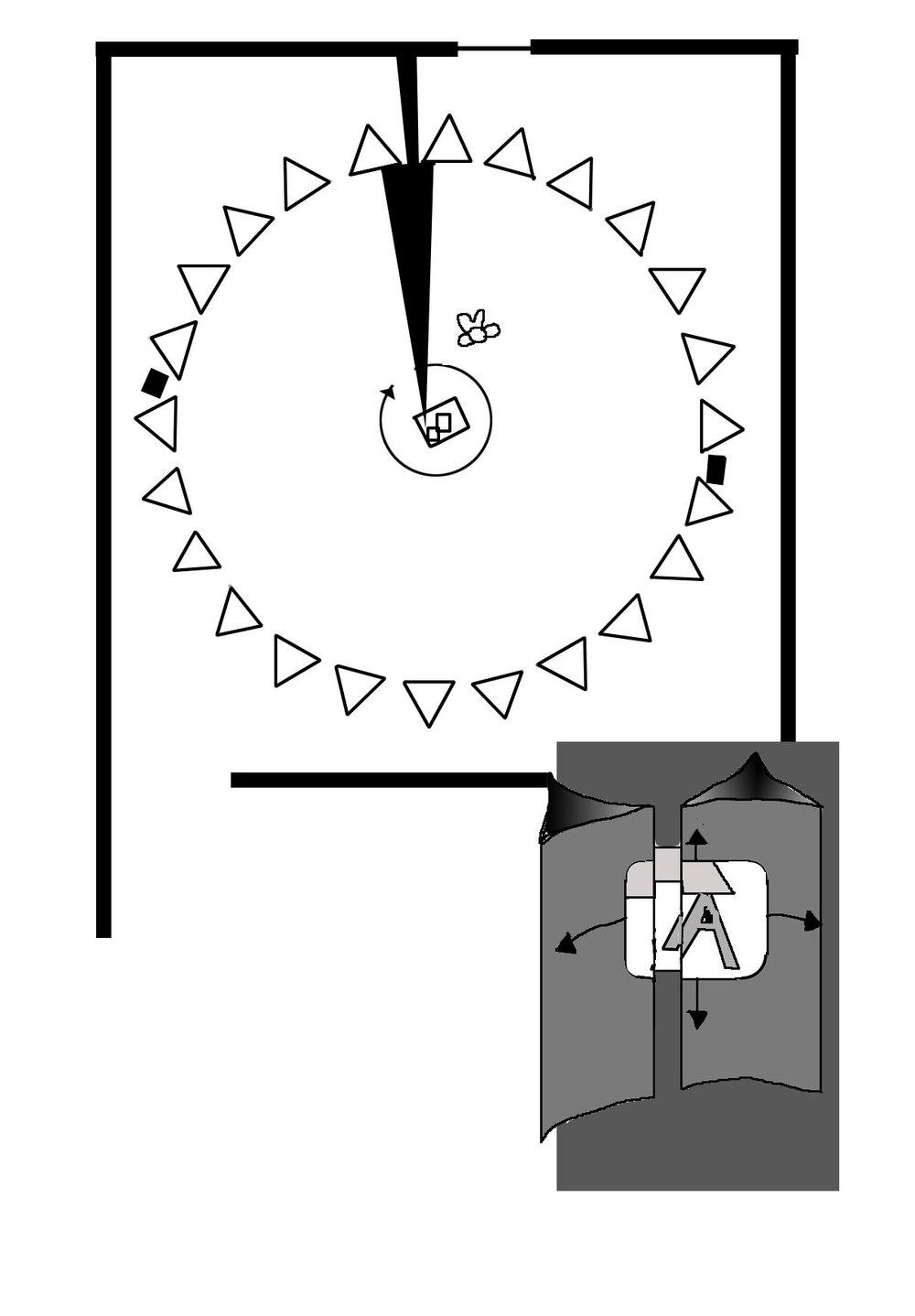 Pong Ping Pong installation plan (1971)