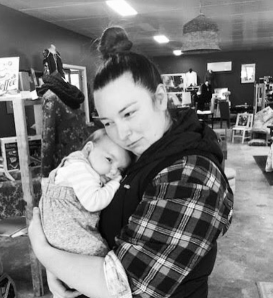"""- """"I have surprised myself with how I have managed to keep the business growing and raise a babyâ€� - Jessica, Owner of@jespressocoffee"""