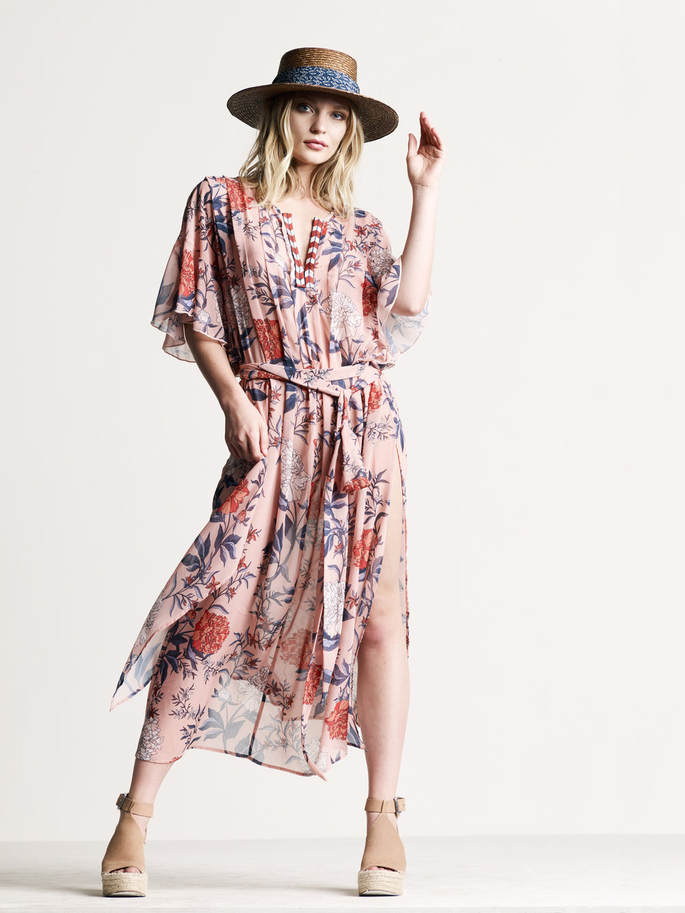 CORAL FLORAL PRINT - See more styles