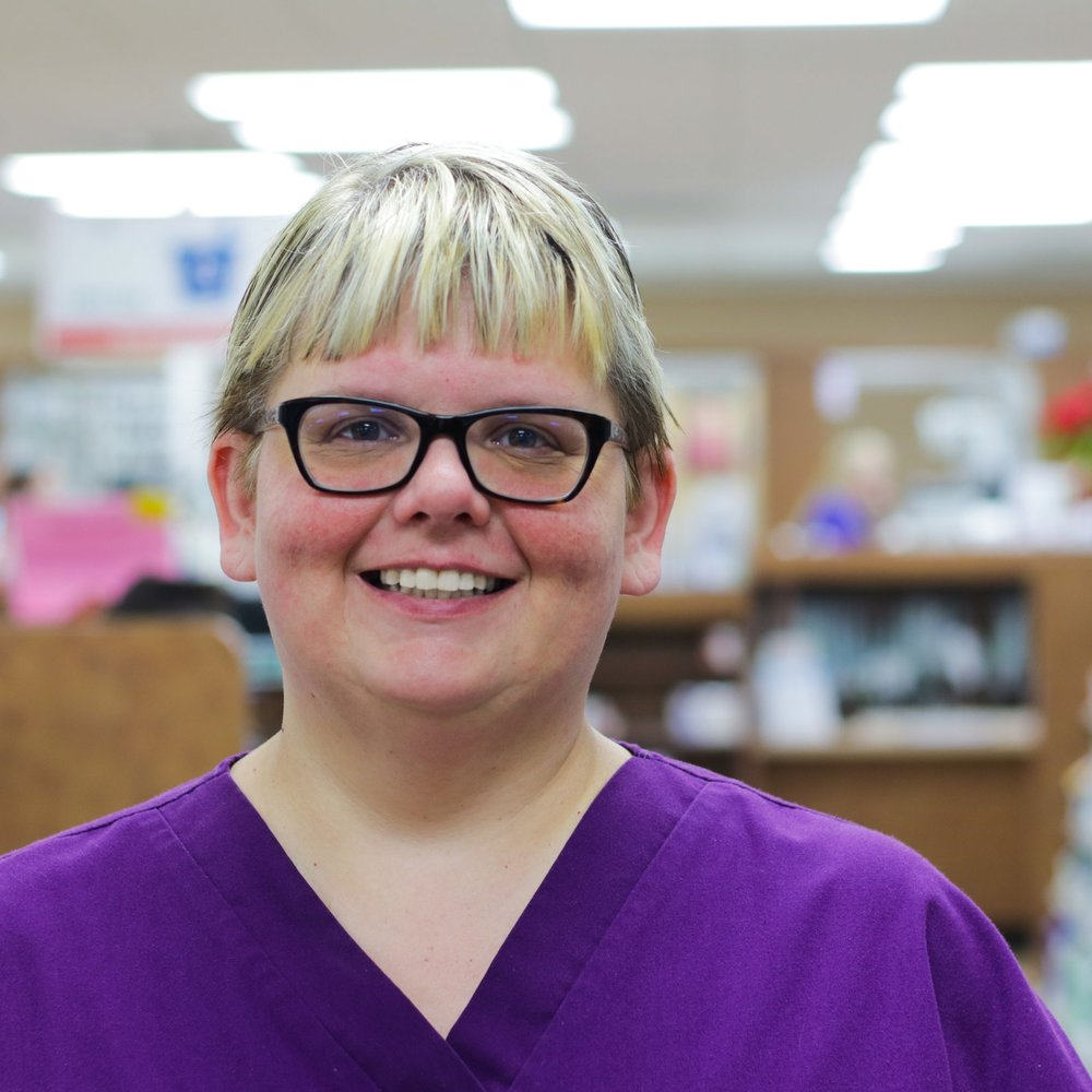 Michelle - Pharmacy Technician  Michelle graduated from Twin Rivers High School in 1991 and joined the Key Drugs family 2018. She enjoys crafting and helping our customers.