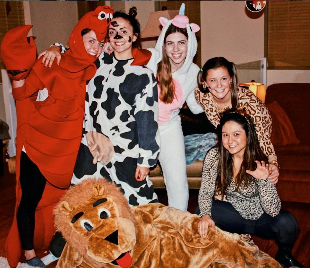 """Happy Halloween! - Siblinghood hosted a Halloween celebration filled with festive activities such as """"wrap the mummy"""", doughnut-eating contests, and more!"""