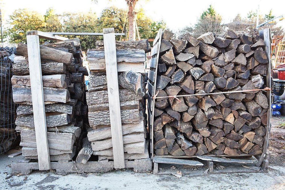 Firewood - B&M Tree Service also provides firewood for sale. We carry mesquite, pecan, oak, and pinon fire wood.