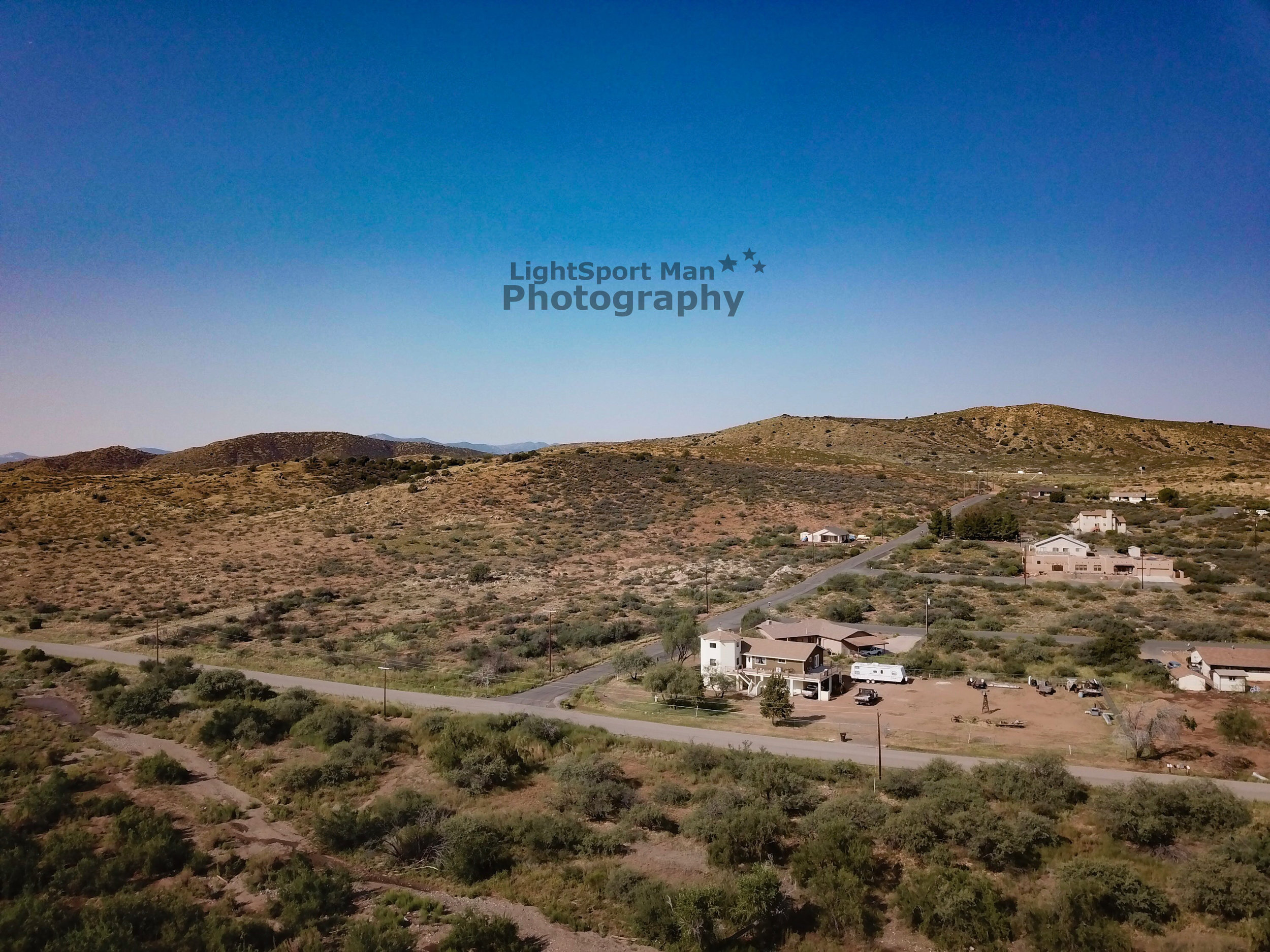 Mayer, AZ - Professional Aerial Photography