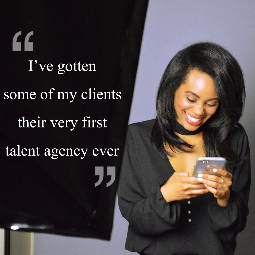 """Representation Package - Guaranteed Representation Meetings! LA Talent Only.Great for: Trained """"agency ready"""" actors ready for representation meetings, more advanced actors who have been unsuccessful gaining representation, actors who have been dropped from an agency, + more!Time to get repped and go on agency meetings! This package begins going through the same """"agency ready"""" process as the Pre-professional Package, and the actor is transformed into a more competitive talent ready for representation by enhancing their overall potential, and marketability in the eyes of the talent agent. This package is a favorite because it guarantees representation meetings with legitimate LA agencies until the actor ultimately signs with a talent agency! Submission for consideration for the Representation Package is required. Some beginner actors may not be accepted for this package. Other stipulations may apply."""